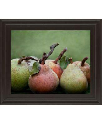 "Comice Pear I by Rachel Perry Framed Print Wall Art, 22"" x 26"""