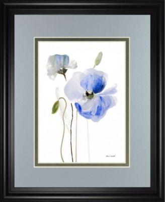 "All Poppies I by Lanie Loreth Framed Print Wall Art, 34"" x 40"""