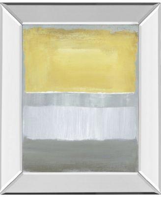 "Halflight I by Caroline Gold Mirror Framed Print Wall Art, 22"" x 26"""