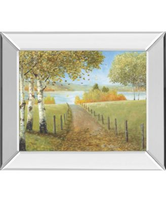 """Rural Route I by A. Fisk Mirror Framed Print Wall Art, 22"""" x 26"""""""