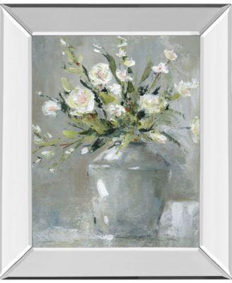 """Country Bouquet II by Carol Robinson Mirror Framed Print Wall Art, 22"""" x 26"""""""