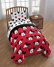 Disney Mickey Mouse 4-Piece Twin Comforter Set