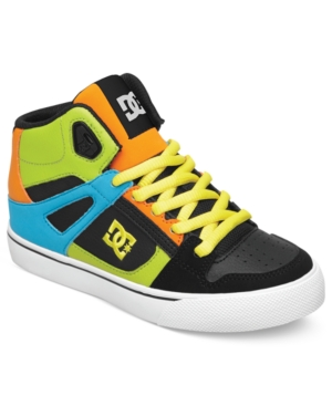 DC Shoes Kids Shoes Boys or Little Boys Spartan HighTop Sneakers