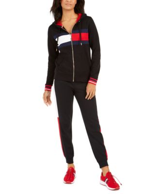 Women's Flag Color Block Terry Jogger