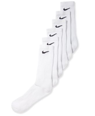 Image of Nike Men's Cotton Crew 6 Pairs Socks