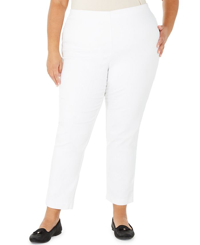 Charter Club - Plus Size Pull-On Skinny Pants