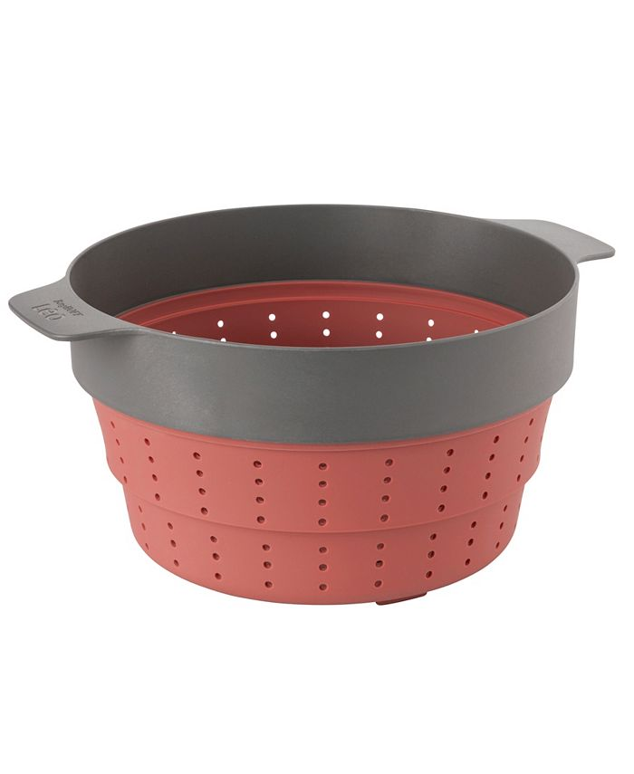 """BergHOFF - Leo Collection 10"""" Silicone 2-in-1 Steamer and Strainer"""
