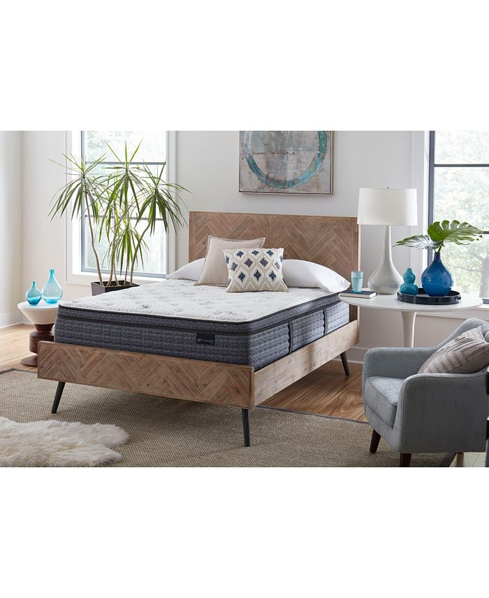 "King Koil - Luxury Willow 13.5"" Plush Euro Top Mattress- Twin"