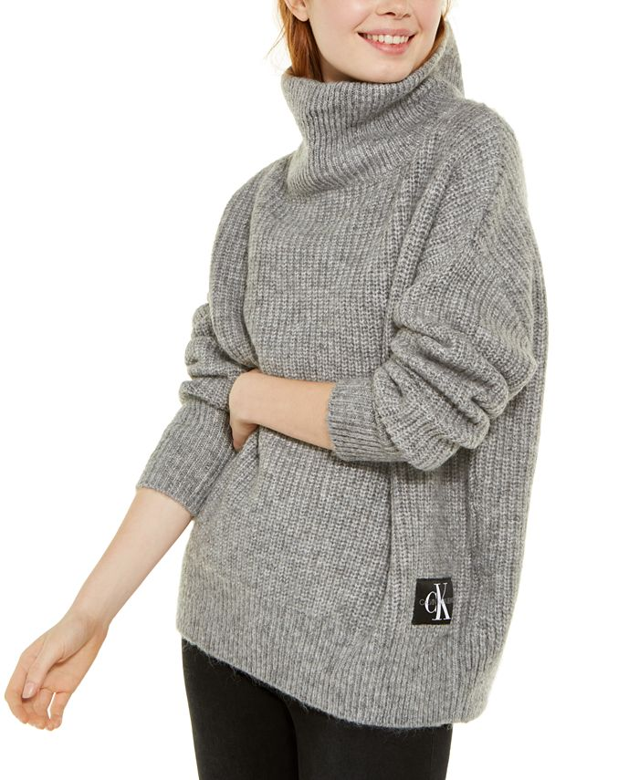Calvin Klein Jeans - Oversized Turtleneck Sweater