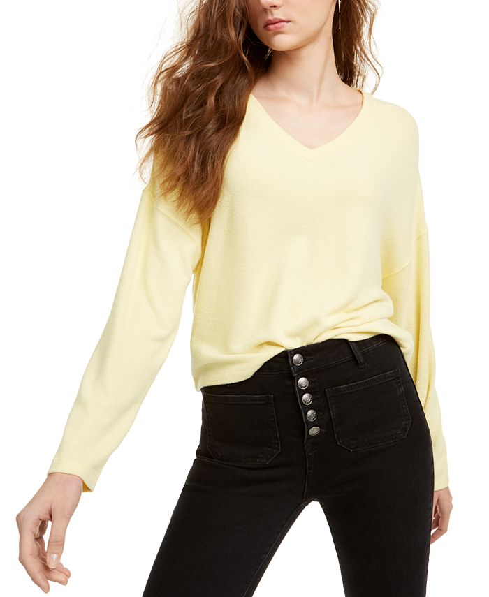 Freshman - Juniors' V-Neck Pullover Sweater