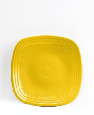 Fiesta Sunflower Square Salad Plate