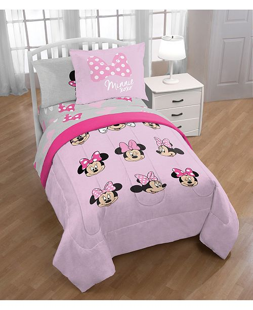 Jay Franco Minnie Mouse Twin 6 Pc. Comforter Set & Reviews