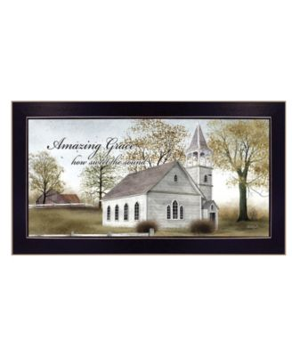 Amazing Grace By Billy Jacobs, Printed Wall Art, Ready to hang, Black Frame, 33
