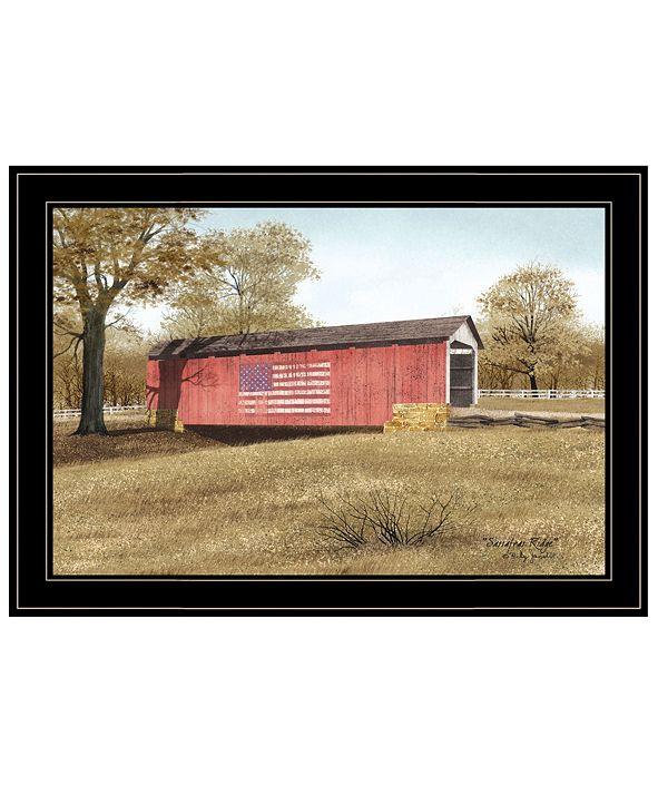 "Trendy Decor 4U Sassafras Ridge by Billy Jacobs, Ready to hang Framed Print, Black Frame, 21"" x 15"""