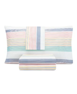 Kids Preppy Stripe Full Sheet Set