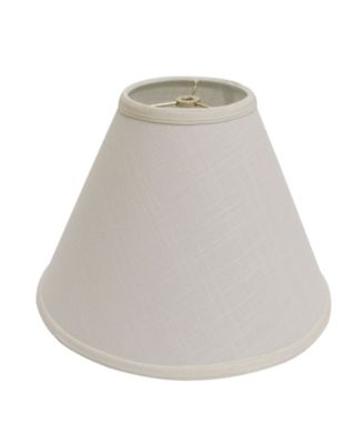 Cloth&Wire Slant Deep Cone Hardback Lampshade with Washer Fitter