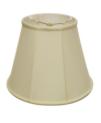 Cloth&Wire Slant Deep Empire Softback Lampshade with Washer Fitter