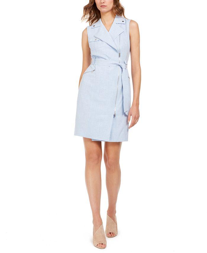 Calvin Klein - Moto Wrap Dress