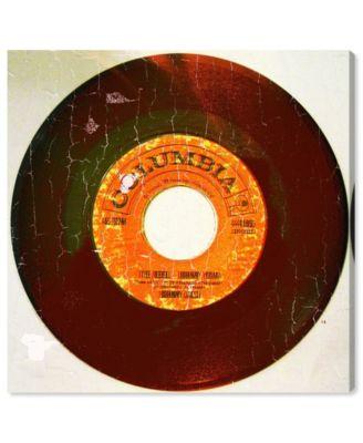 Rebel Vinyl Canvas Art, 43