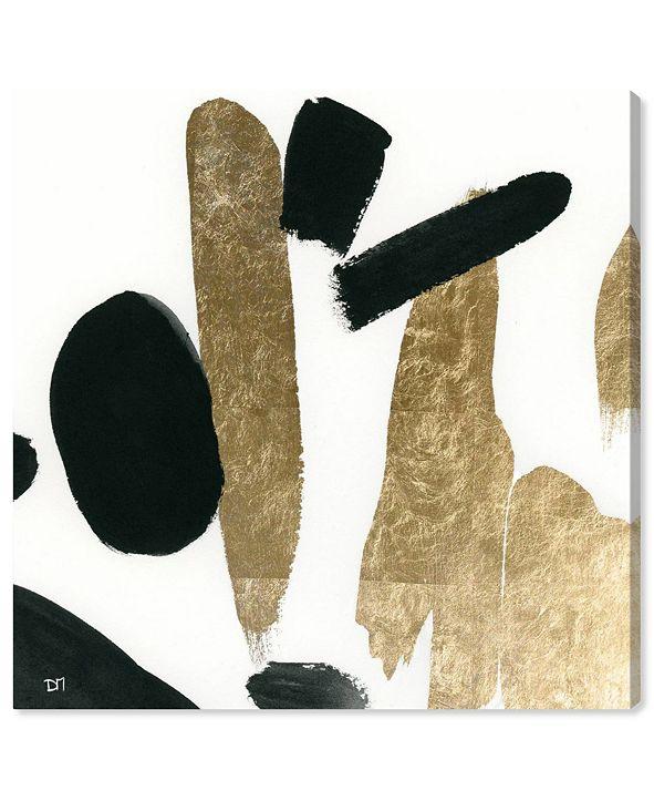 "Oliver Gal Big Gold Canvas Art, 43"" x 43"""
