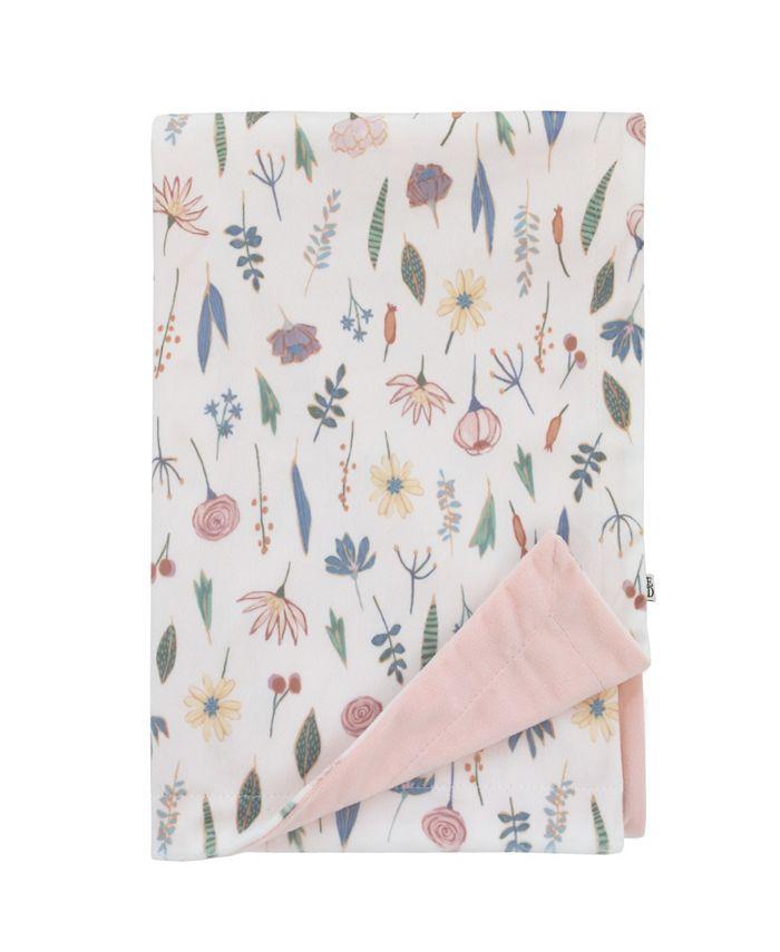 ED Ellen Degeneres - ED Ellen DeGeneres Painterly Floral Baby Blanket