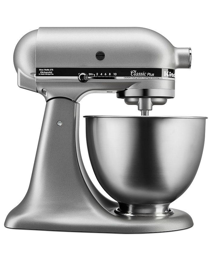 KitchenAid - KSM75SL Stand Mixer, 4.5 Qt. Classic Plus Tilt Head