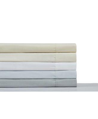 400TC Percale Cotton Twin Sheet Set