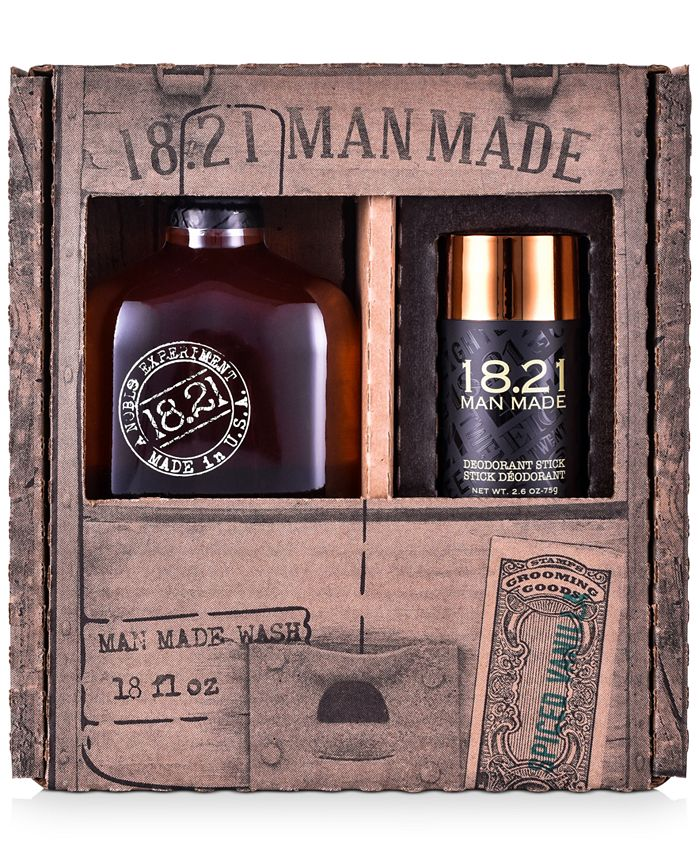 18.21 Man Made - 2-Pc. Spiced Vanilla Wash & Deodorant Gift Set
