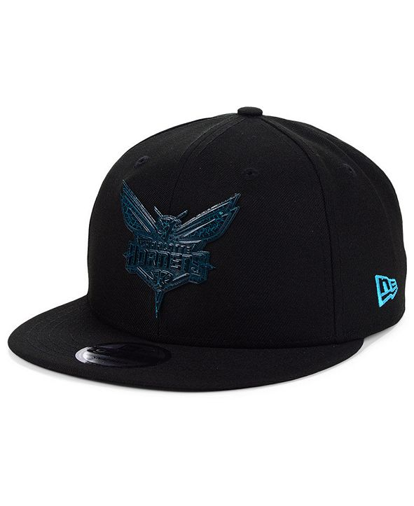 New Era Charlotte Hornets Metal Crackle 9FIFTY Cap
