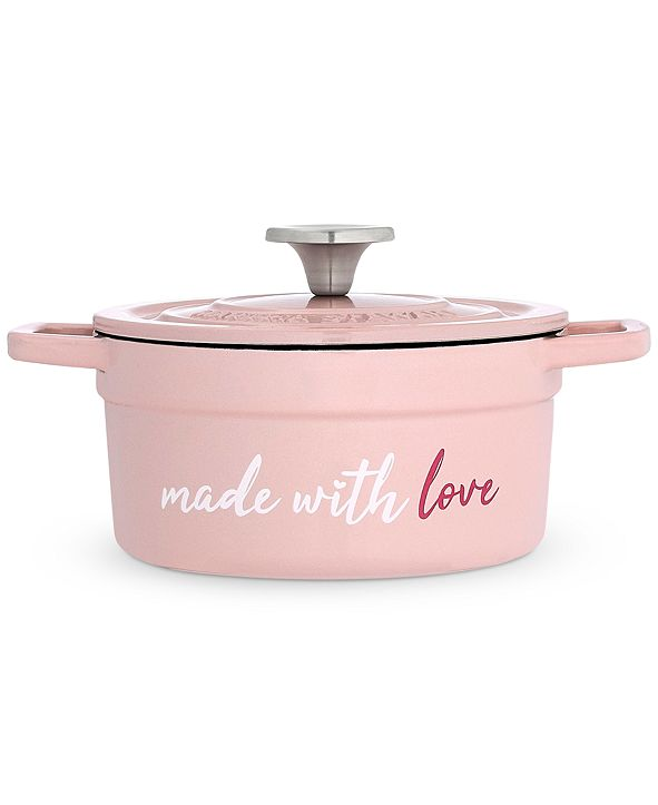 Martha Stewart Collection Made with Love 2-Qt. Enameled Cast Iron Dutch Oven, Created for Macy's
