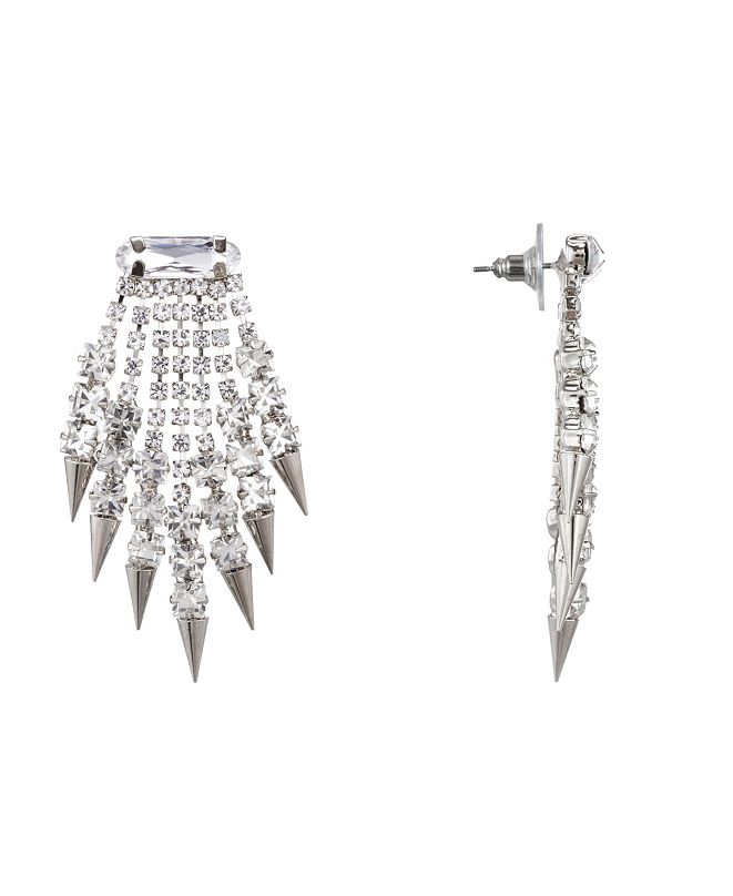 Nina Fringe Spike Earrings