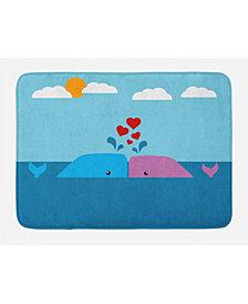 Ambesonne Whale Bath Mat