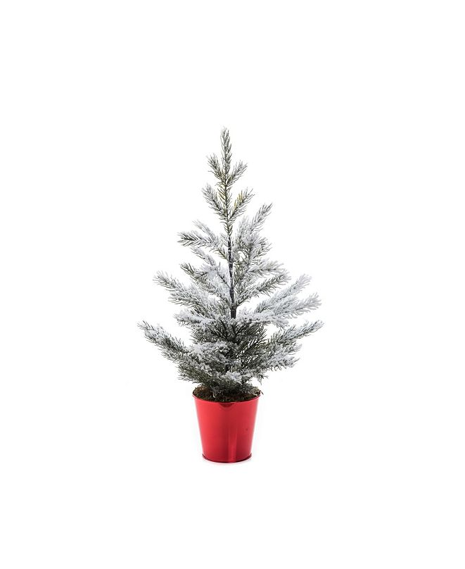 Trans Pac Small Snowy Tree
