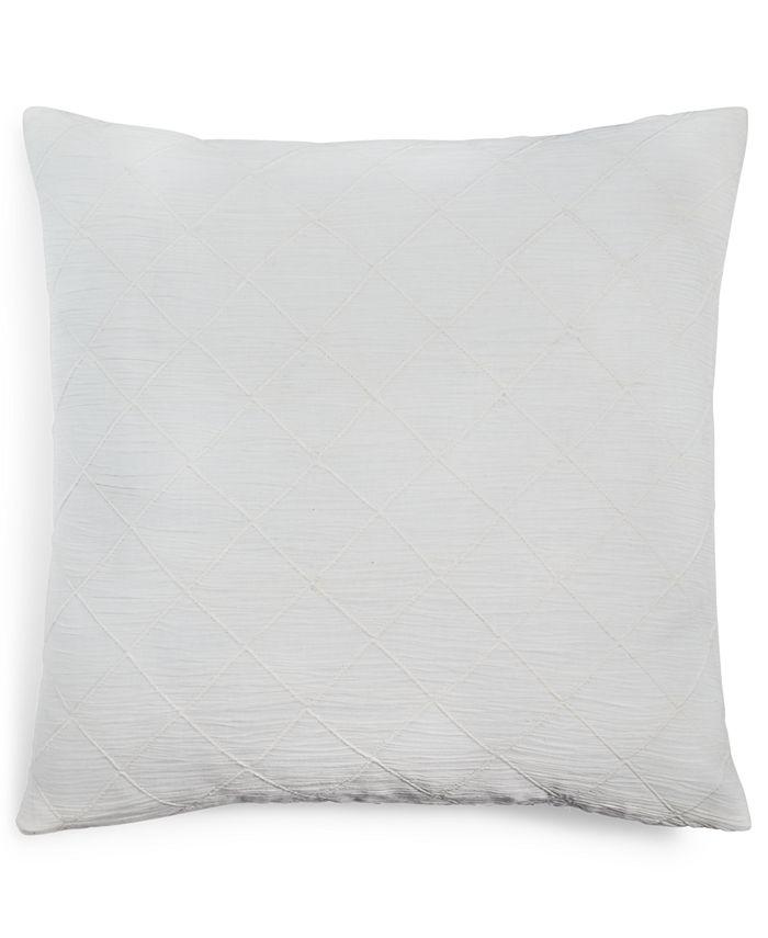 Calvin Klein - Puckerd Diamond 18 Square Decorative Pillow