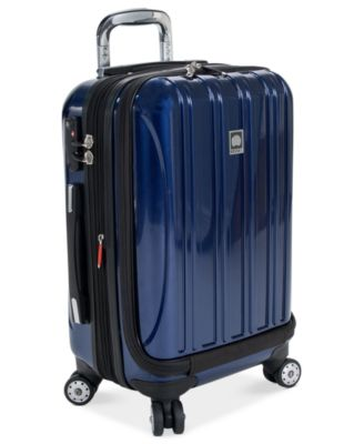 "Delsey Aero 19"" International Carry On Expandable Hardside Spinner Suitcase"