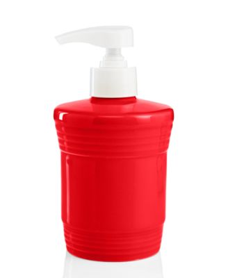 Fiesta Scarlet Soap & Lotion Dispenser