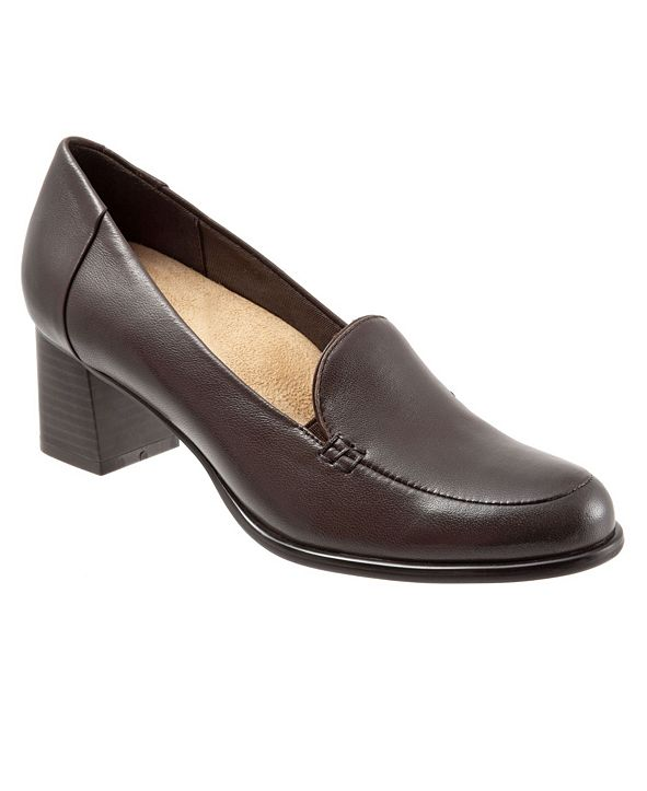 Trotters Quincy Slip On Heel Pumps