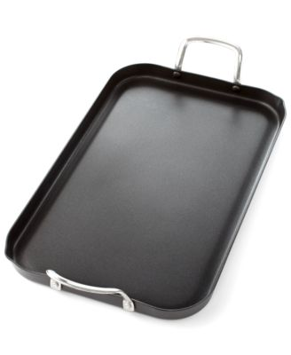 "Tools of the Trade 11"" x 18"" Double Burner Griddle, Only at Macy's"