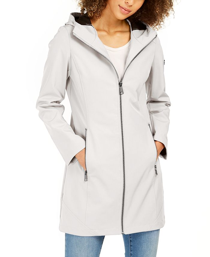 Calvin Klein - Hooded Raincoat
