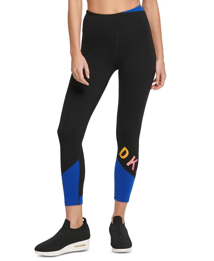 DKNY - Colorblocked Ankle Leggings