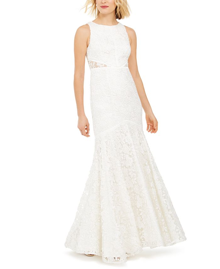Adrianna Papell - Lace Bridal Gown