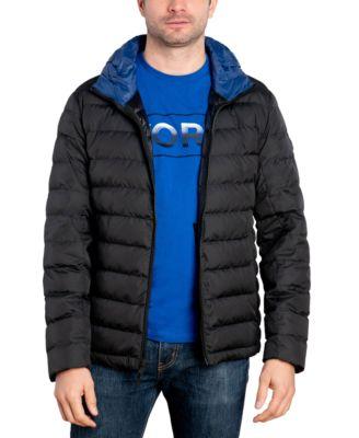 Mens black size large packable down vest molle vest m9 holster