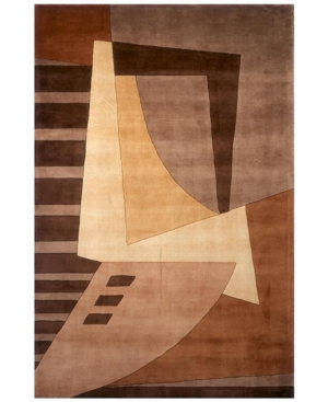 """Momeni """"New Wave NW-22 Lt. Brown"""" Area Rug, 8' x 11'"""