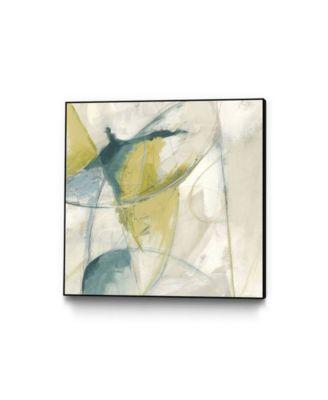 "30"" x 30"" Footnote II Art Block Framed Canvas"