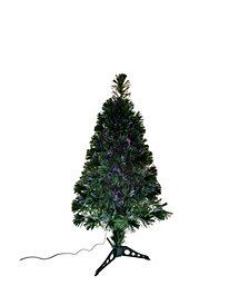Kurt Adler 36-inch Fiber optic Green Tree with Multi-colored LED Lights