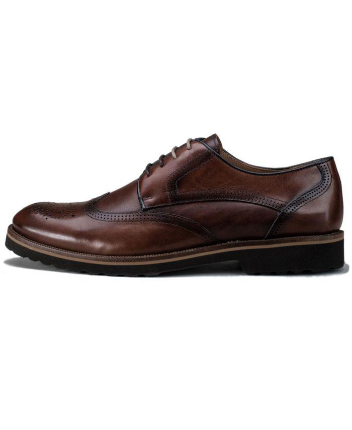 Belvedere Men's Cardif Wingtip Lace Up Shoe & Reviews - All Men's Shoes - Men - Macy's