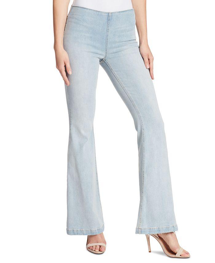 Ella Moss - Pull-On Flare-Leg Jeans