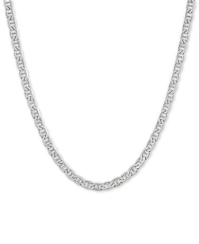 """Giani Bernini - Mariner Link 20"""" Chain Necklace in Sterling Silver"""