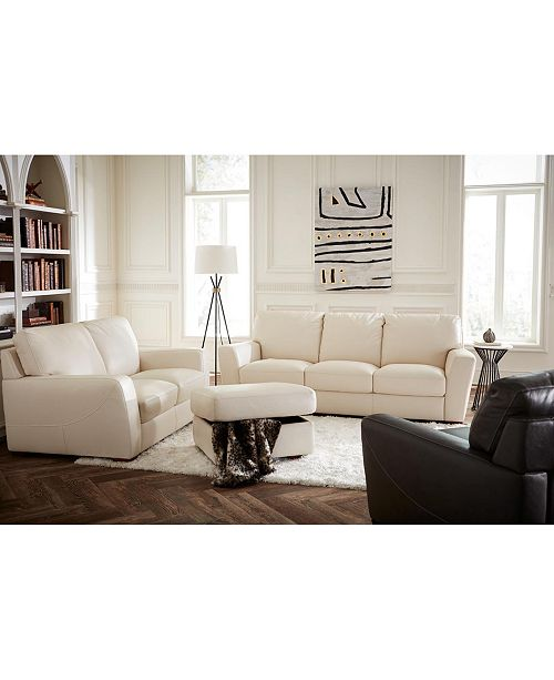 Furniture Jaspene Leather Sofa Collection Reviews Furniture Macy S