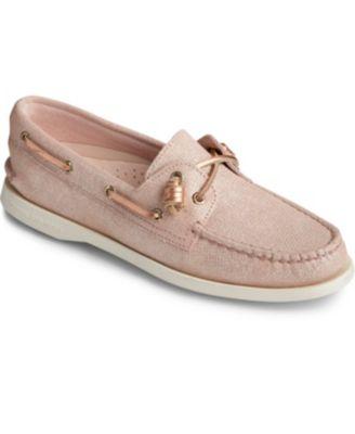 Vida Brushed Metallic Boat Shoes